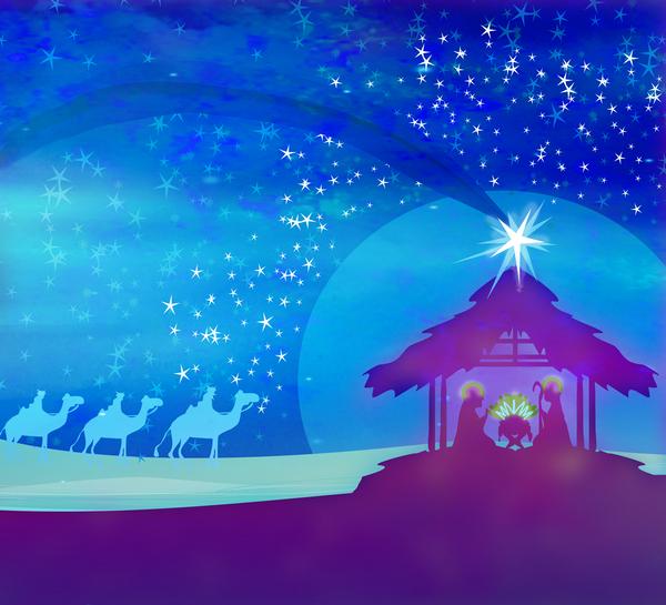Julkrubba–läromedel i religion åk 4–6